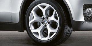 20 BMW X5 X6 E53 E70 Style 214 Y Spoke Hyper Silver Wheels NEW (1999