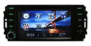 Navigation Stereo Head Unit For Chrysler 200 300C Jeep Charger Dodge