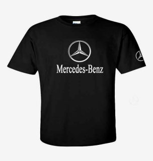 MERCEDES BENZ Logo T shirt Daimler Benz AMG New Benz logo sizes S