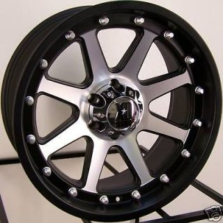 20X9 BLACK MACHINED XD ADDICT WHEELS RIMS DODGE DAKOTA DURANGO RAM