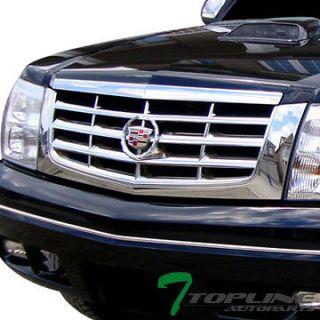 GRILLE BADGE EMBLEM 2PCS 02 06 CADILLAC ESCALADE SUV (Fits Cadillac