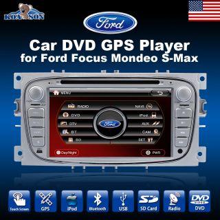 KOASON Ford Focus mondeo S Max Car DVD player GPS radio Bluetooth