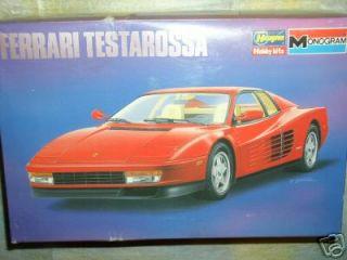 Hasegawa 1/24 Ferrari Testarossa Model Car Kit