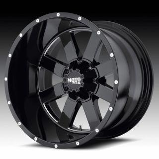 18 inch 18x10 Moto Metal black wheels rims 8x170 f250 350 excursion