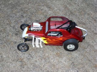 Acme/Toms Garage 1/18 New Flamed Altered Fiat Topolino