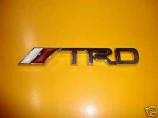 TOYOTA TRD LOGO EMBLEM BADGE TOYOTA SCION Racing Development BODY