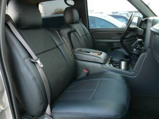 Dodge Ram Quad Cab 1500 2500 Clazzio Leather Custom Fit Seat Covers
