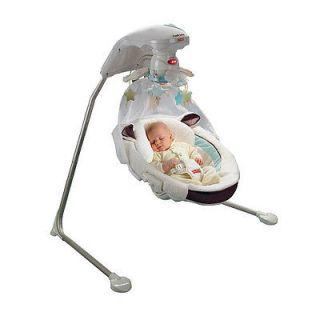 Fisher Price My Little Lamb Cradle n Swing #zTM