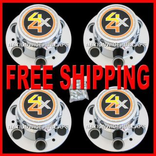 CHEVY GMC 4X4 6 LUG 15X8 RALLY WHEEL CENTER HUB CAPS