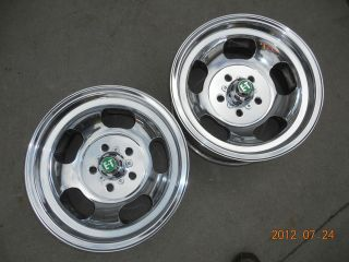 15x7 SLOT MAG WHEELS CHEVELLE MAGS GASSER FORD DODGE MOPAR CAMARO