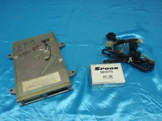 Honda Civic EF9 Vtec Engine Management ECU + Spoon Sports Vtec