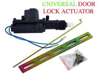 SET of 2 Aapex UNIVERSAL POWER DOOR LOCK ACTUATOR MOTOR 12V 8.8lb