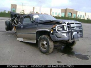 94 95 96 97 DODGE RAM 2500 PICKUP FRONT AXLE ASSEMBLY