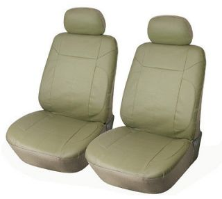 Front Car Seat Covers Compatible With Lincoln 153 Tan