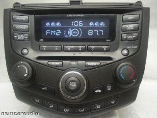 HONDA Accord 6 Disc Changer CD Player Radio Stereo 7BC0 EX LX 4 Door