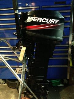 1998 mercury marine tracker 75 hp outboard motor engine w for Mercury boat motor props