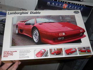 Testors Red Lamborghini Diablo 1/24 Model Car Mountain KIT FS