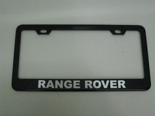 Newly listed Land Rover *RANGE ROVER* BLACK Metal License Plate Frame
