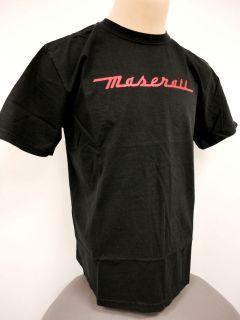 NEW* Mens Black Maserati T Shirt
