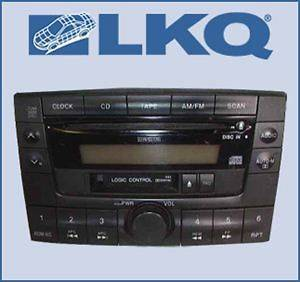 00 2000 01 2001 Mazda MPV Single Disc CD Cassette Player Radio OEM
