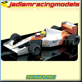 SCALEXTRIC Slot Car C3095 McLaren MP4 6 Ayrton Senna 1991