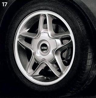 MINI Cooper 16 R102 Silver S Winder Rim Wheel OEM New