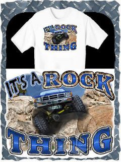 TOYOTA TRUCK 4X4 ROCK CRAWLER PRINTED T SHIRT SIZE SMALL 4XL NEW