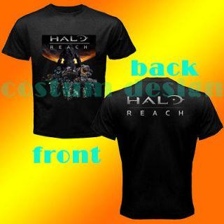 GILDAN tee HALO REACH NOBLE TEAM LOGO GAME XBOX 360 MAN BLACK T SHIRT