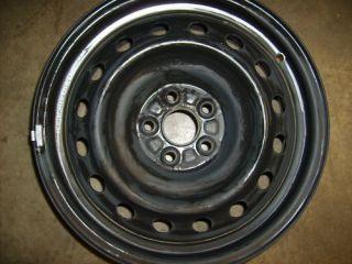 2009 09 2010 10 Toyota Corolla Matrix Steel Wheel Rim 16 NW OEM USED