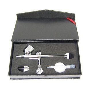 3mm Veda AirBrush Air Brush Spray Gun Craf Nail Ar Se Dual Acion