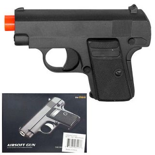 9mm Spring Black Metal Airsoft Pistol Gun 205fps w/ 6mm BB Air Soft G9