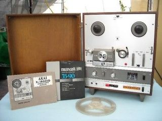 Akai SD 1800 XD Reel to Reel 8 track Player w Manual