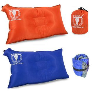 Self Inflatable Air Pillow Portable Nonslip Camping Travel Indoor