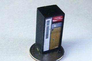 HO CUSTOM VINTAGE BOTTLE COKE SODA POP VENDING MACHINE, B 5, COCA COLA