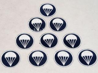 WWII WW2 US AIRBORNE PARATROOPER GARRISON CAP BADGE INSIGNIA  32144