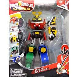 2011 Power Rangers Samurai Megazord, Clawzord & Bull Megazord (MIB)