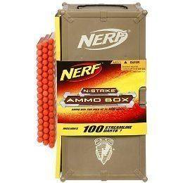 NERF 100 STREAMLINE DARTS & AMMO BOX FOR LONGSHOT RECON