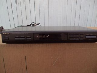 TECHNICS ST K55 STEREO SYNTHESIZER TUNER USED WORK GREAT