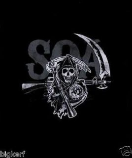 Sons of Anarchy {Layered Reaper} Licensed SAMCRO Long Sleeve T Shirt