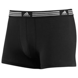 Adidas ClimaLite Athletic Stretch 2 Pack Black Boxer Brief Size [S] [M