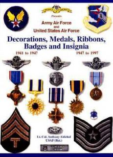 , Medals, Badges and Insignia of the United States Air Force