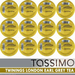 TASSIMO T Discs  TWININGS of London Earl Grey TEA  6 24 Capsules