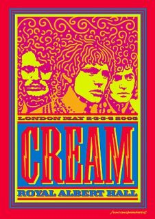 Cream   Royal Albert Hall London DVD, 2005, 2 Disc Set