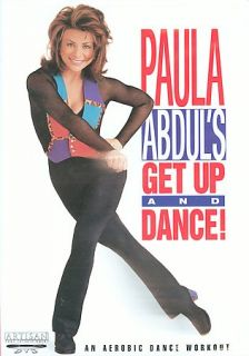 Paula Abduls Get Up and Dance DVD, 2003