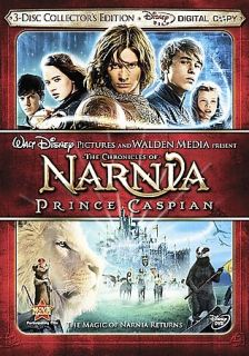 The Chronicles of Narnia Prince Caspian DVD, 2008, 3 Disc Set