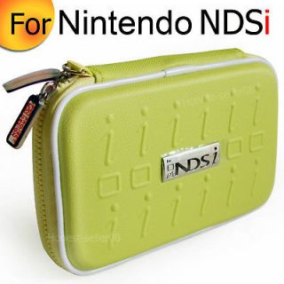 Yellow Hard Carry Pouch Case Bag For Nintendo NDSL DSi NDSi DS Lite