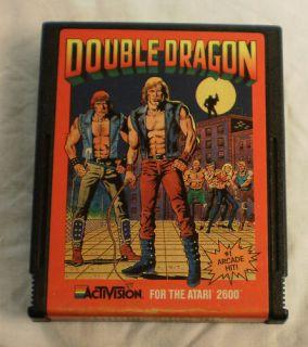 Atari Game Cartridge Double dragon