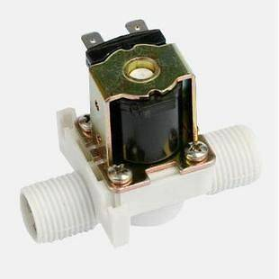 2Way Water Air Gas Nylon Plastic Solenoid Valve 12VDC Normal Closed