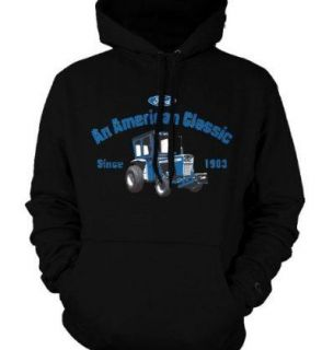 Classic Ford 1000 Tractor Pullover Hoodie SweatshirtFord Tractor