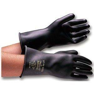 EMPEROR ME101 10 LONG HEAVY DUTY RUBBER LATEX GLOVES   LARGE (SZ 9.5